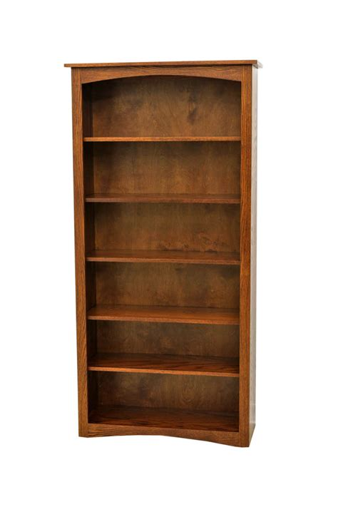 72 quot mc shaker bookcase craft furniture