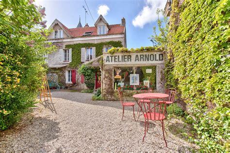 location maison auvers sur oise auvers sur oise lovely house with artist s studio