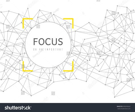 geometric network pattern abstract network seamless background circle frame stock