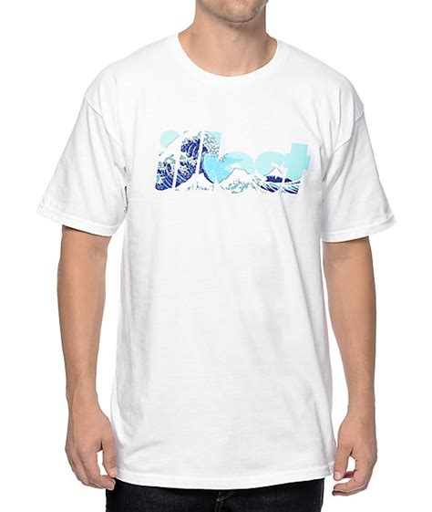 Illest Shirt illest bold waves white t shirt