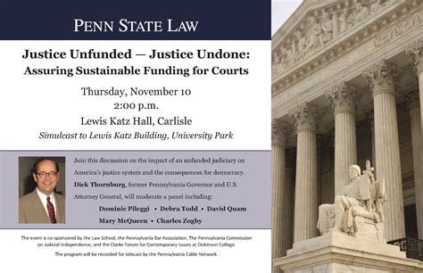 Pennsylvania State Judiciary Search Justice Unfunded Justice Undone Assuring Sustainable