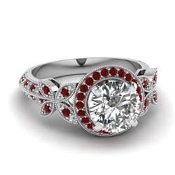 ruby wedding ring set wedding ideas