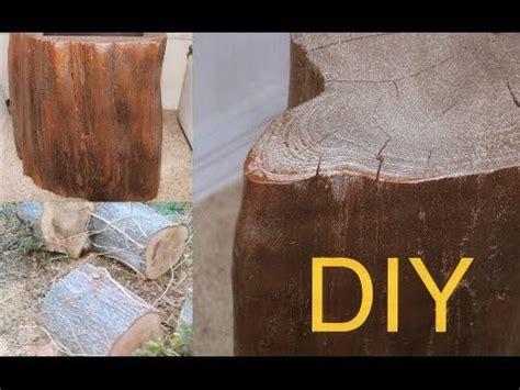 diy     tree wood table   tutorial youtube