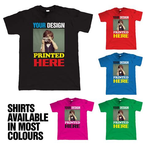 custom personalised design your own t shirts stag hen custom t shirt printing personalised your image photo