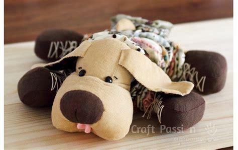 pattern yo yo dog softie sewing