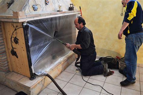 pulire il camino pulizia canna fumaria spazzacamino abruzzo
