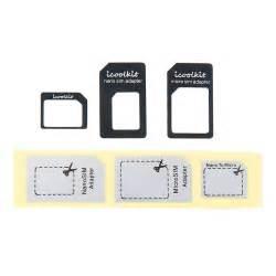 Iphone 4s Sim Card Template Nano Sim To Sim Diy Crafts