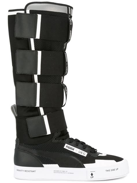 Court Play X Ueg Black x ueg court play boots in black for lyst