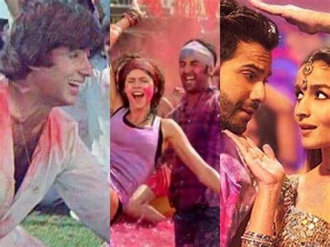 Holi 2017: Bollywood?s top 10 Holi songs of all time