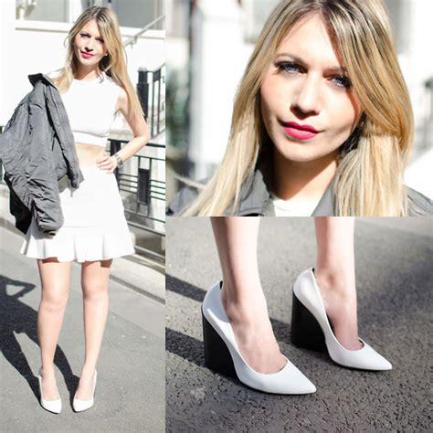 Shoe Zara Mule Cone Heels 569 62 Sepatu Wanita Branded Import mikaela zara mules topshop boyfriend denim on denim lookbook