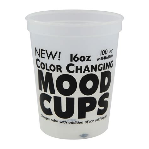 color changing cup customized 16oz color changing mood stadium cup
