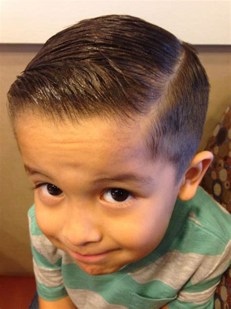 comb over hairstyle for teen boys my little man s fade combover little man style