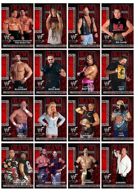 Wwe Shop Gift Card - wwe attitude era promo cards part 1 by chirantha on deviantart