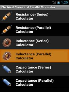 inductor series resistance calculator home education electrical series and parallel calculator for android