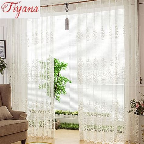 european lace curtains aliexpress com buy european lace curtain sheer