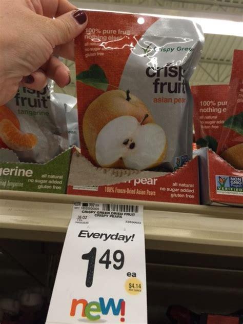 Crispy Green Freeze Dried Fruit New Crispy Green Freeze Dried Fruit Safeway