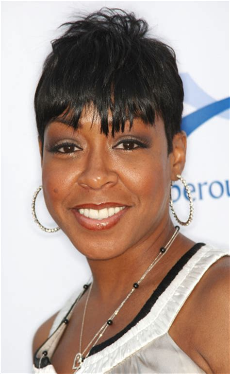 Tichina Arnold Hairstyles by Tichina Arnold Cut With Bangs Cut With Bangs