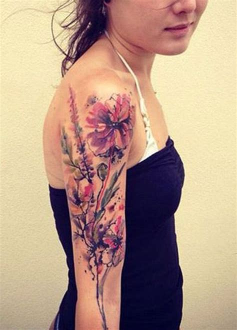 12 best watercolor tattoo designs for the week pretty