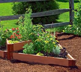 terraced triange raised bed traditional outdoor pots
