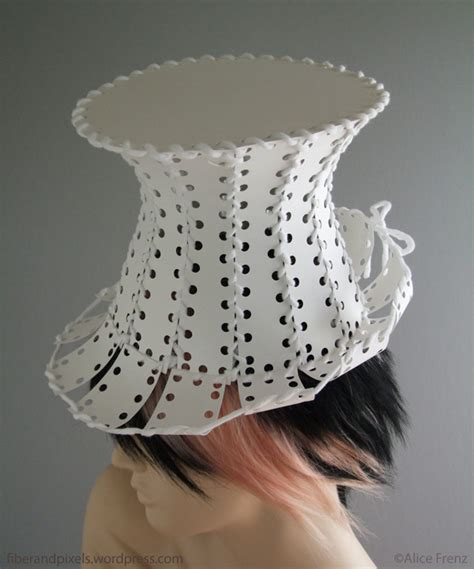 How To Make A Top Hat With Paper - make a paper top hat fiber and pixels