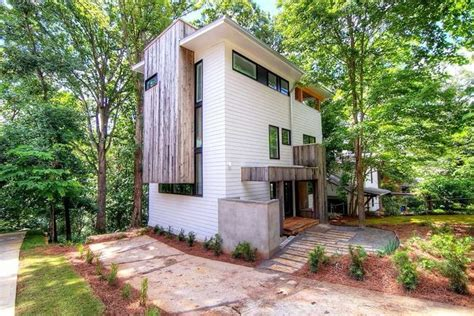 modern tree house in decatur unique modern tree house reduced to 795k curbed atlanta