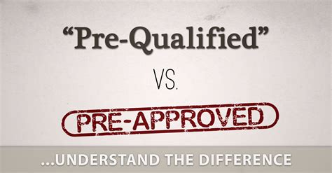 Mortgage Pre Qualification Letter Vs Pre Approval Mortgage Prequalification Vs Preapproval