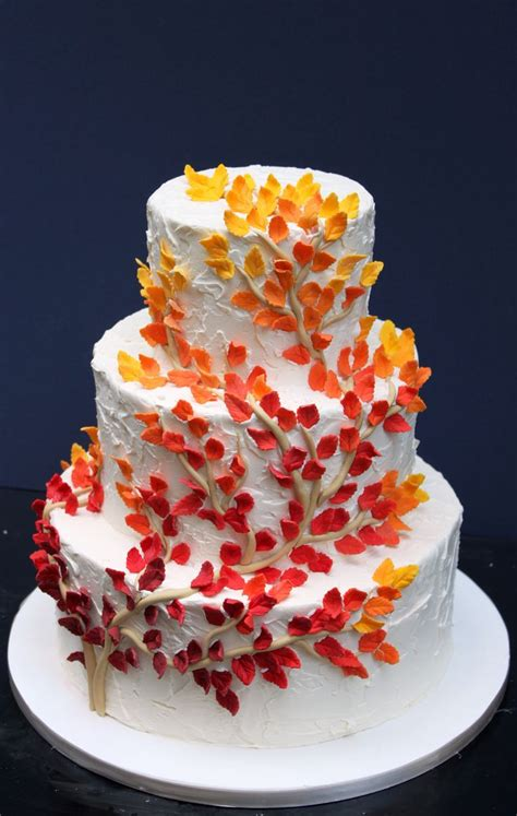 Simple Wedding Cake Ideas For Fall by Top 7 Most Refined Autumn Fall Wedding Cake Ideas