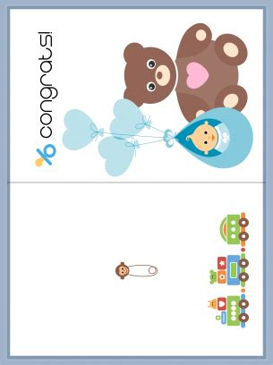 congratulations baby card template free and baby congrats card