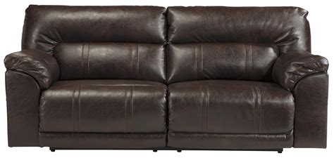 benchcraft recliner benchcraft spartan 4730181 bonded leather match 2 seat