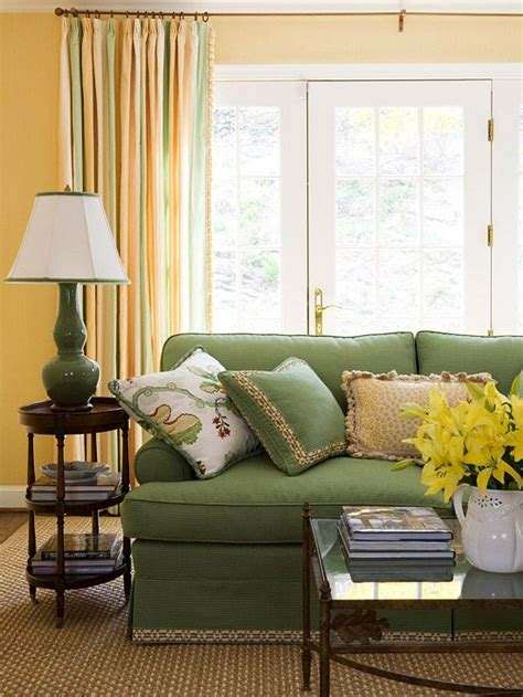 yellow and green living room 34 analogous color scheme d 233 cor ideas to get inspired digsdigs