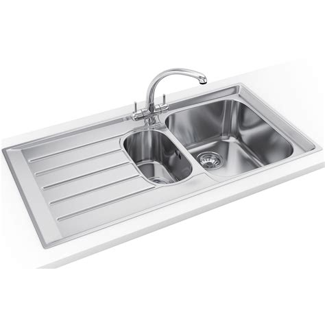 franke kitchen sinks and taps franke neptune propack nex 251 stainless steel sink and