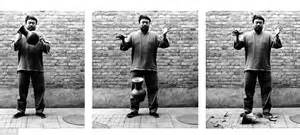 Weiwei Vase Ai Weiwei Who Had His 1m Vase Smashed By Protestor In