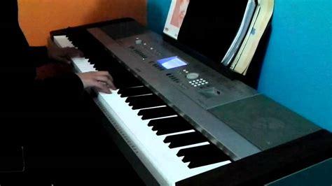 daft punk keyboard daft punk the grid keyboard cover youtube
