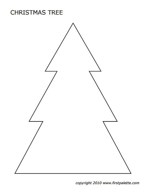 printable templates of christmas trees 33 christmas tree templates in all shapes and sizes