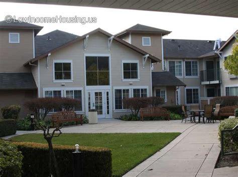 Low Income Senior Housing by Bracher Senior Housing 2665 South Drive Santa Clara Ca