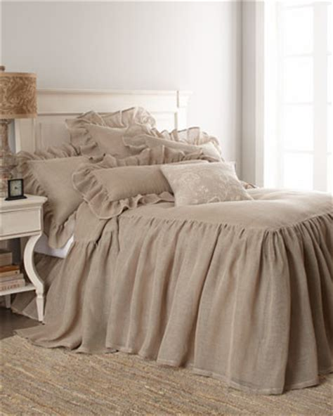 bedroom linen pine cone hill natural linen mesh bed linens traditional