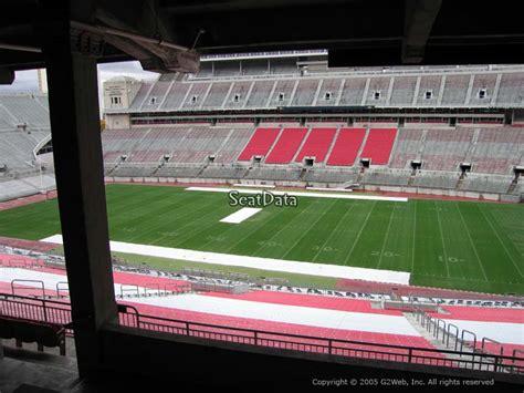section 16b ohio stadium section 16b rateyourseats com