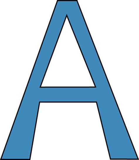 Letter A Blue Alphabet Letter A Clip Blue Alphabet Letter A Image
