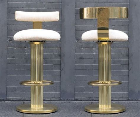 modern deco bar stool gold bar stools home