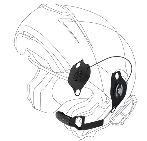 Helm Kyt C3 interphone f5mc schuberth c3 helmet headset kit