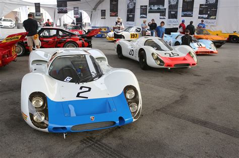 porsche race cars the coolest porsche racing cars at the 2015 rennsport reunion