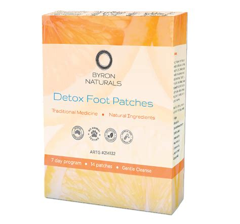 Byron Bay Detox Foot Patches by Detox Foot Patches 14 Patches 7 Pairs