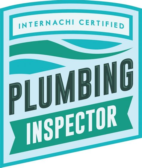 Plumbing Inspector Courses by The New Quot Certified Plumbing Inspector Quot Logo Internachi Inspection Forum