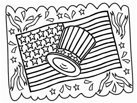 Coloring Page 4th Of July by 4th Of July Printable Coloring Pages Az Coloring Pages