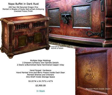 Napa Style Furniture by Painted Furniture Napa Painted Dining Room Buffet