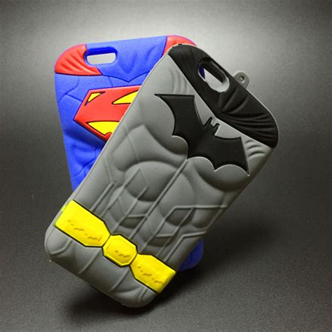 Softcase Not Superman Cover Soft Casing Iphone 6 6s Plus buy 3d superman batman soft silicone phone cover apple iphone 4 4s se 5 5c