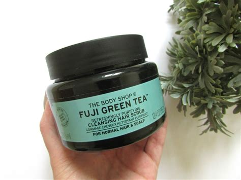 Scrub Shop the shop fuji green tea cleansing hair scrub