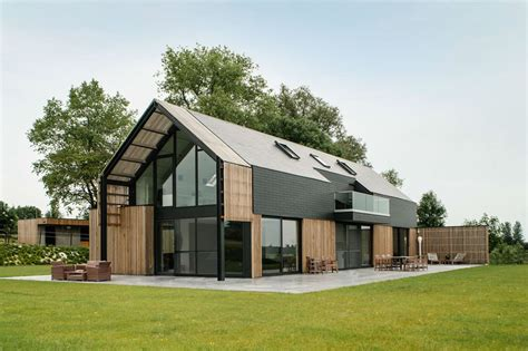 barn style house kits old belgian barn is transformed into a gorgeous