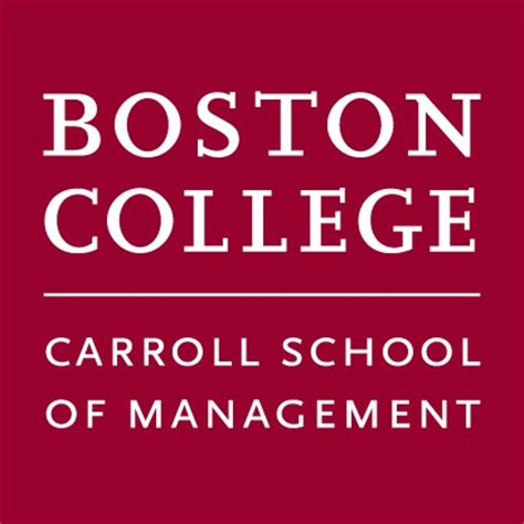 Boston College Carroll Mba Essays by Carroll School Of Management