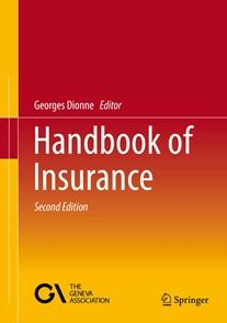 reference books for risk management hec montr 233 al news george dionne s handbook of